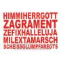 Bayern Postkarte - Himmiherrgott Sprüche Postkarten