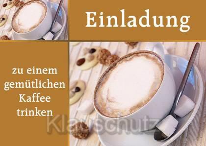 Einladung Zum Kaffeetrinken – thegirlsroom
