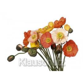 Blumenkarten Postkarten | Mohnstrauß