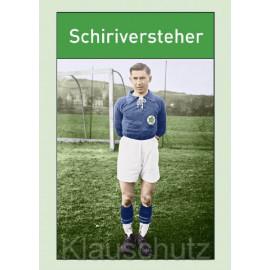 Lustige Fußballkarte Postkarte: Schiriversteher