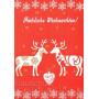 Adventskalender Doppelkarte - Fröhliche Weihnachten / Merry Christmas
