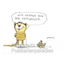 Tiger und Tigerente - Schöne Postkarten von Janosch