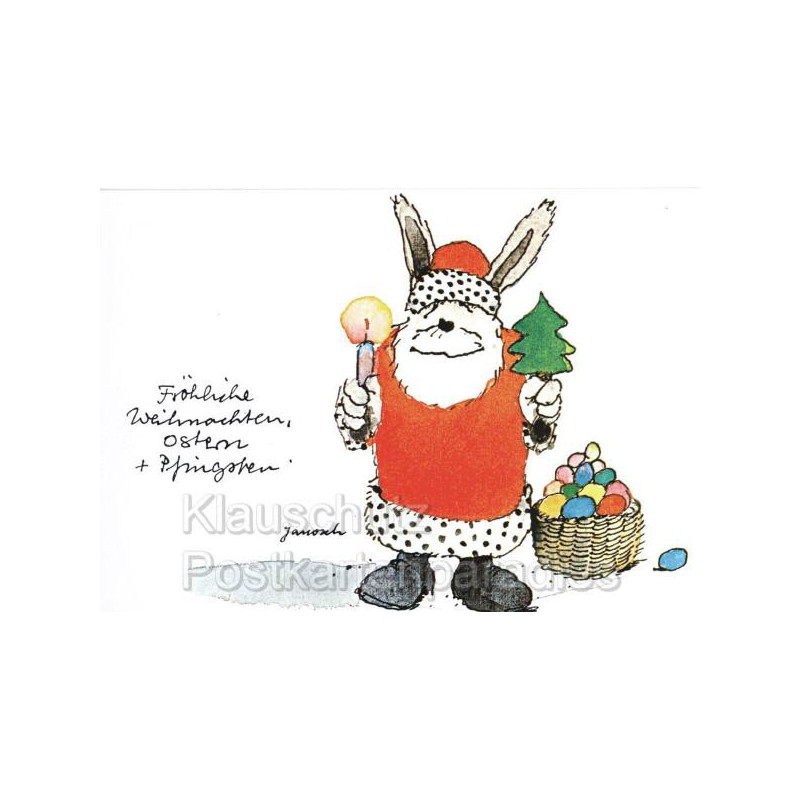 Janosch postkarte weihnachtsmann - Grafik weihnachten kostenlos ...