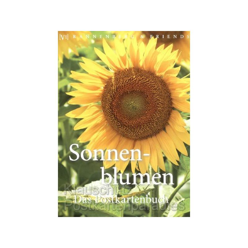 Sonnenblumen Das Postkartenbuch