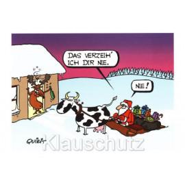 Weihnachtsmann - Das verzeih ich dir nie - Weihnachtskarten von Rannenberg