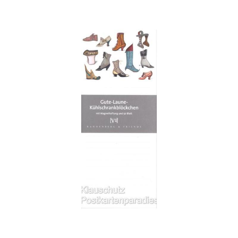 Gute Laune Kühlschrankblock von Rannenberg - Historische Schuhe