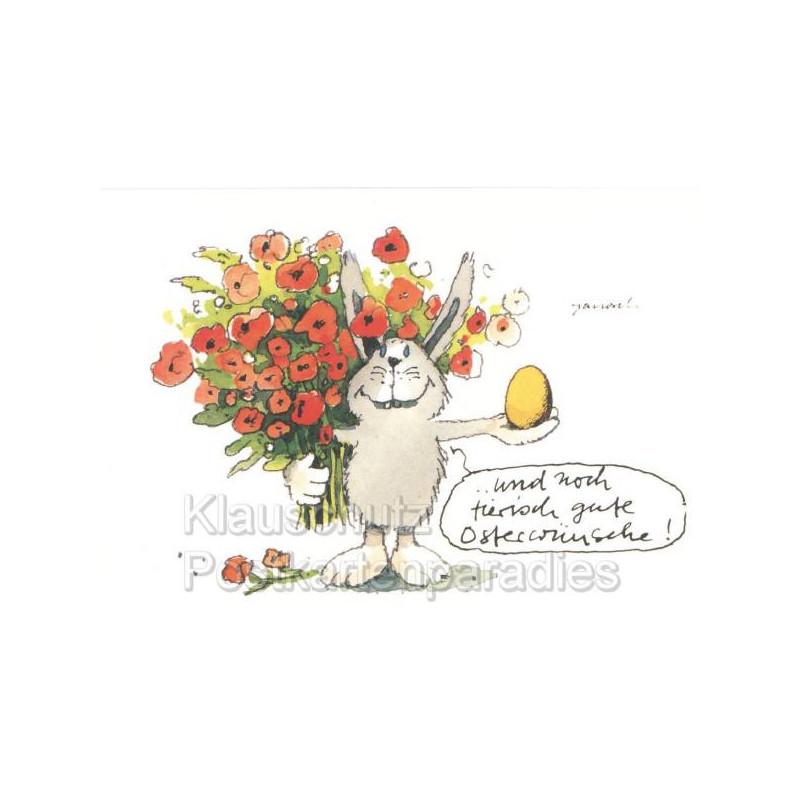 Tierisch gute Osterwünsche Janosch Postkarten Ostern