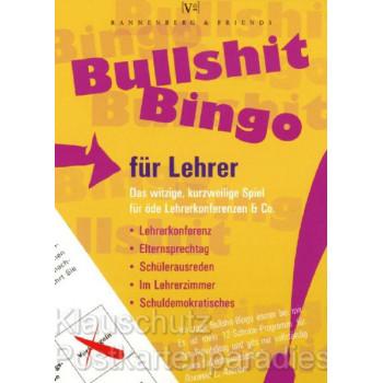 Rannenberg & Friends Spieleblöckchen für Schule und Büro von Rannenberg - Bullshit Bingo fürs Lehrer.