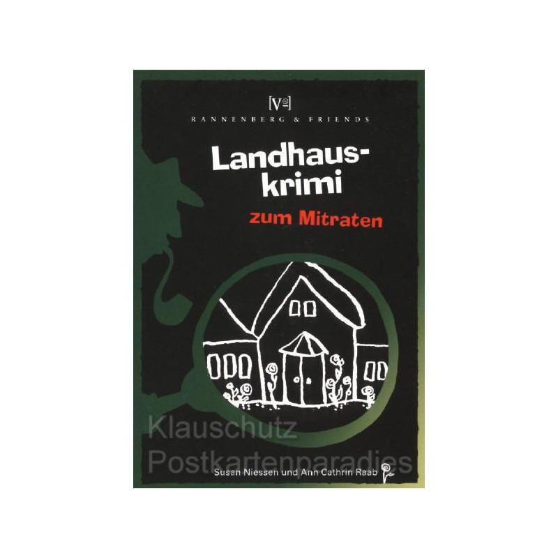 Krimis zum Mitraten von Rannenberg - Landhauskrimi in Blockform