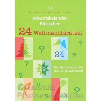 Das Rannenberg Blöckchen mit 24 spannenden Weihnachtsrätseln