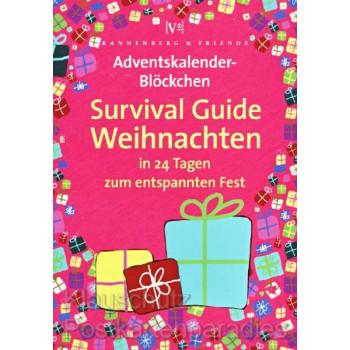 Adventskalender Blöckchen von Rannenberg | Survival Guide Weihnachten - in 24 Tagen zum entspannten Weihnachtsfest.