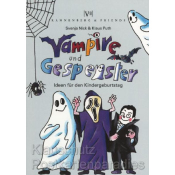 Rannenberg und Friends Kinder Spieleblöckchen RSB040  Vampire und Gespenster