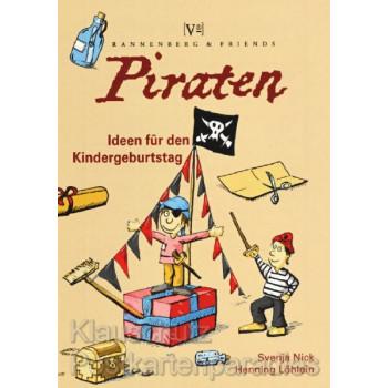 Rannenberg und Friends Kinder Spieleblöckchen | Tolles Spieleblöckchen für den Piraten Kindergeburtstag