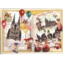 Gruss aus Köln - Nostalgie Postkarte