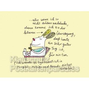 Postkartenbuch mit 14 Motiven von Karin Baetz mit sofortiger Glückswirkung.
