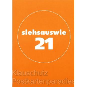 Berlinerisch | Postkarte von Cityproducts - Siehsauswie 21