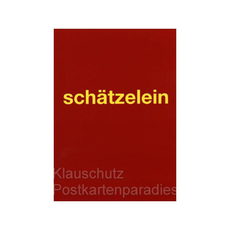 Schätzelein | Postkarten auf Kölsch