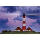 Leuchttürme - Das Postkartenbuch mit 14 Postkarten