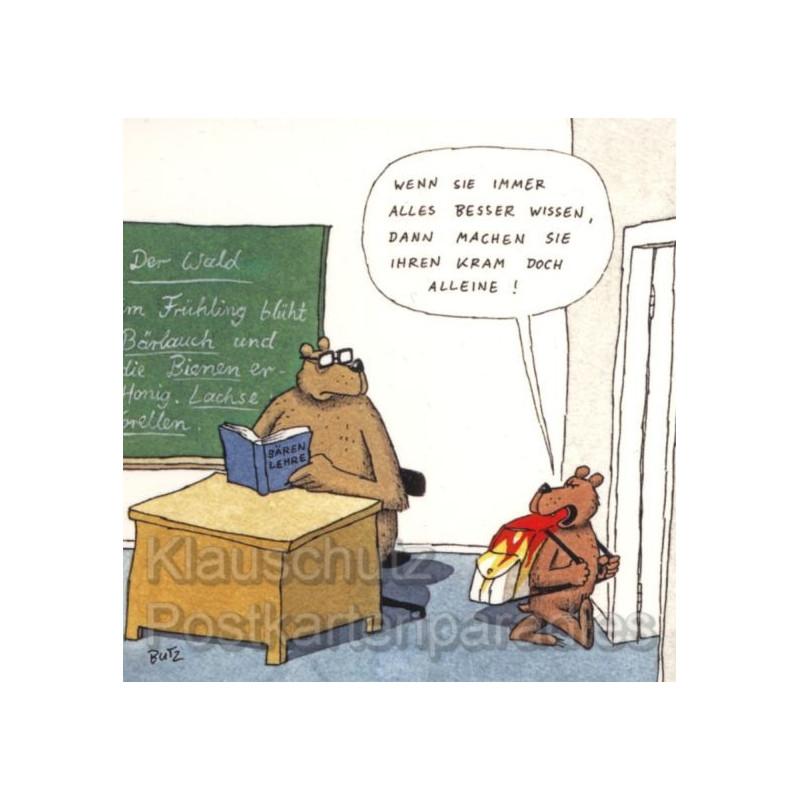Rannenberg Klebezettel Lehrer Besserwisser