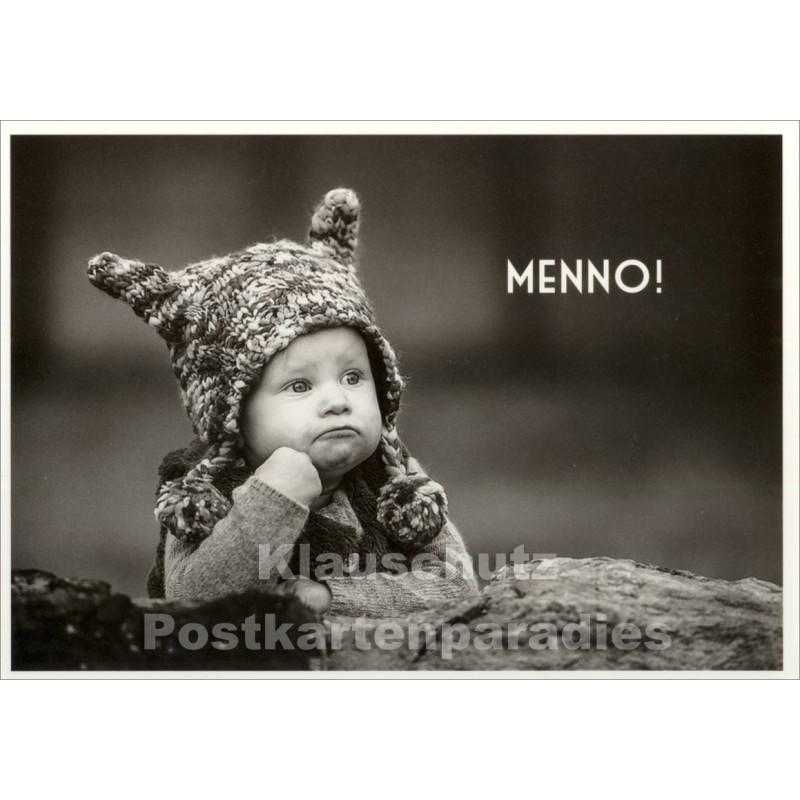 Menno! Foto Postkarte