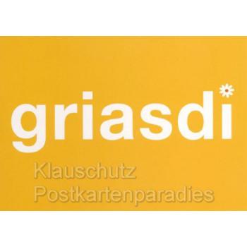 Grias di | Witzige bayrische Sprüchekarten von Cityproducts