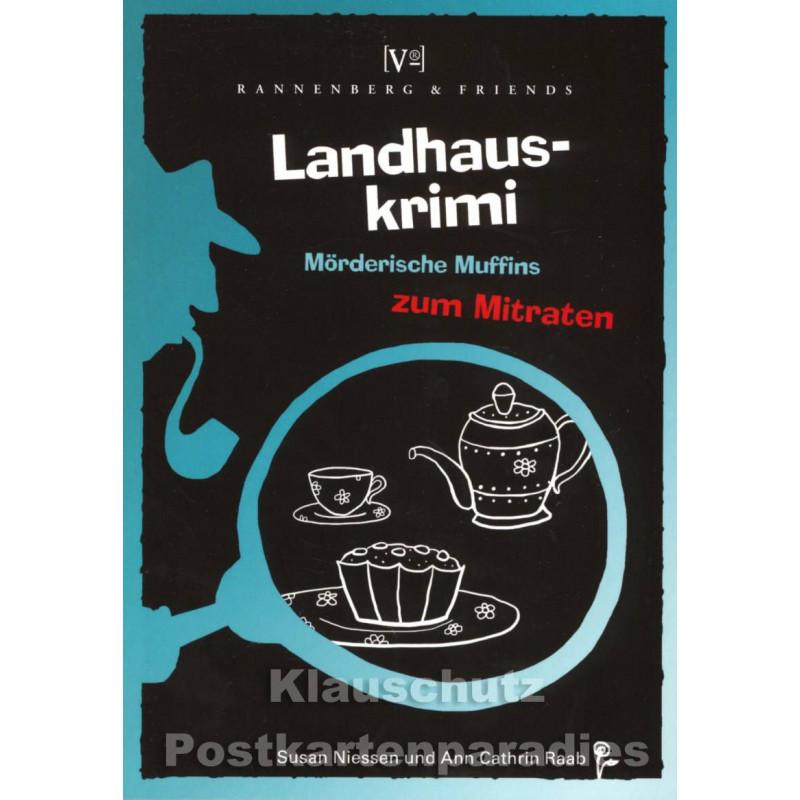 Landhauskrimis Muffins zum Mitraten von Rannenberg