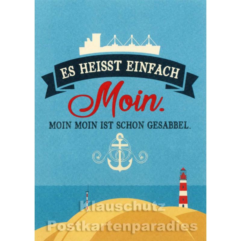 Moin Moin - Küsten Postkarten
