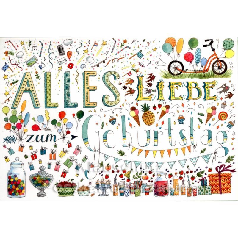 Ales Liebe Zum Geburtstag