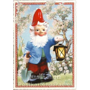 Retro Glitterkarte Helmut