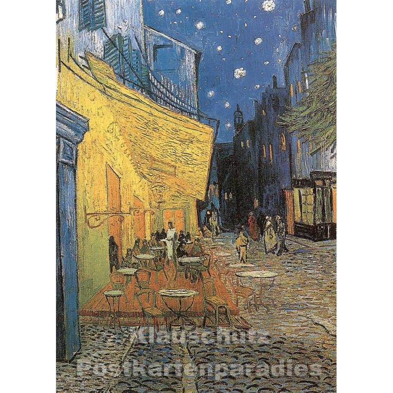 Vincent van Gogh - Nachtcafé | Kunstkarte