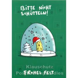 Rentier und Schneemann - Adventskalender