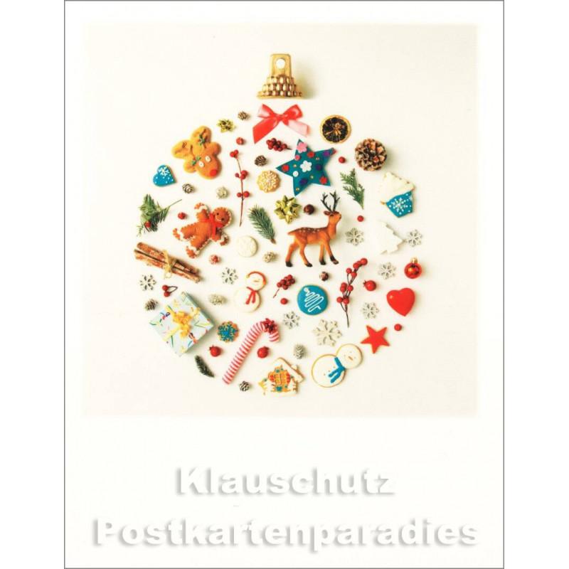 Polacard Weihnachten von Taurus | Christbaumkugel