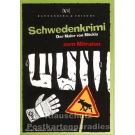 Schwedenkrimi Blöckchen zum Mitraten - Der Maler von Möckla