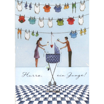 Doppelkarte - Das Alter einer Frau