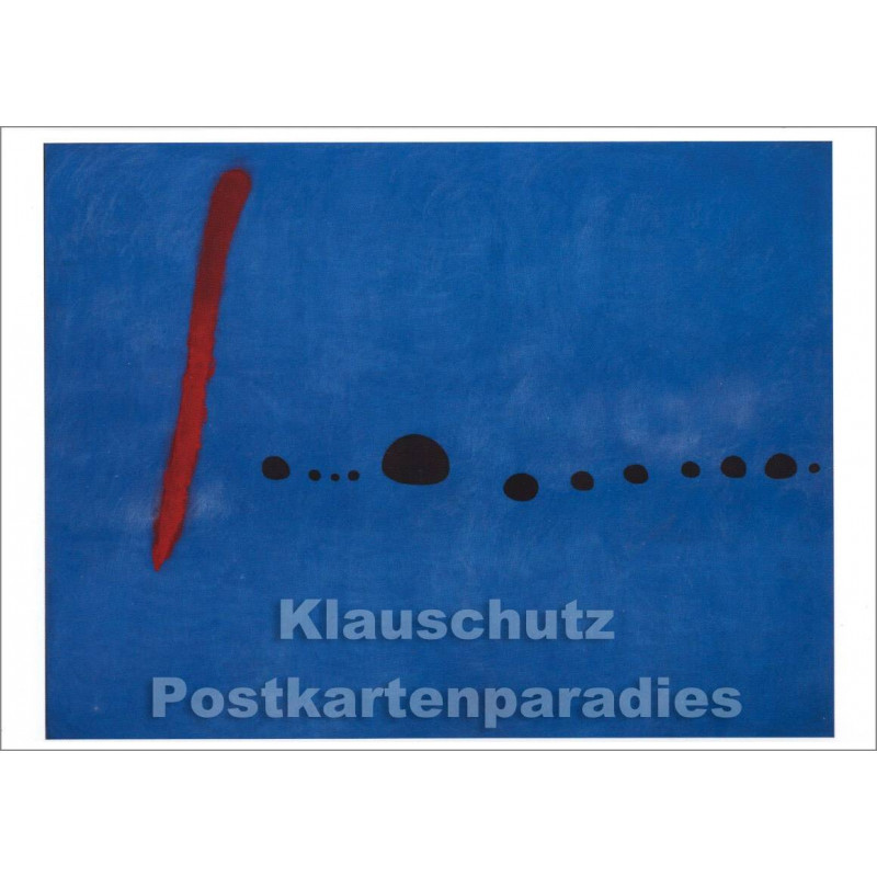 Joan Miró - Blau II | Kunstkarte