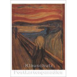 Edvard Munch Kunstkarte | Der Schrei