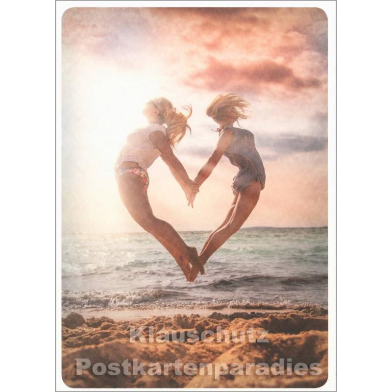 Herzsprung - Postkarte