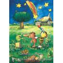 Janosch Postkarte | Sternenhimmel