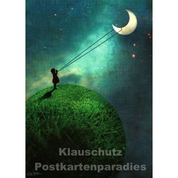 Mond | Postkarte