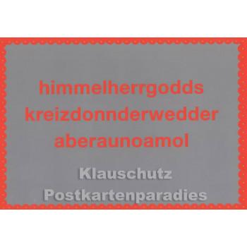 Bayern Postkarten - Himmelherrgodds