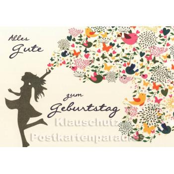 Alles Gute zum Geburtstag | Postkarte