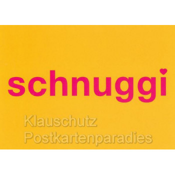 Schnuggi | Lustige Sprüche Postkarten von der Küste von Cityproducts