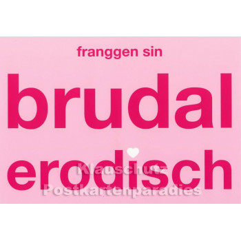 Franken Postkarten - Erodisch