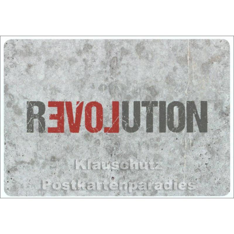 Revolution Postkarte