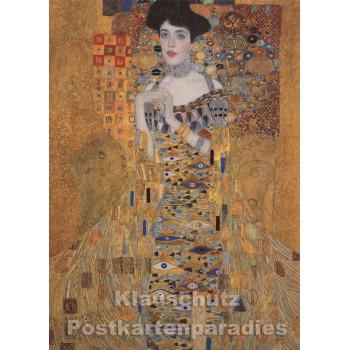Gustav Klimt  Kunstkarte | Adele Bloch-Bauer I