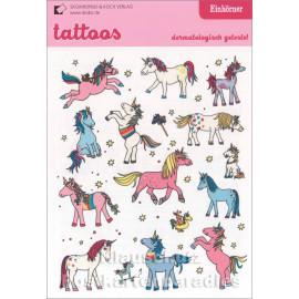 Tattoos - Einhörner