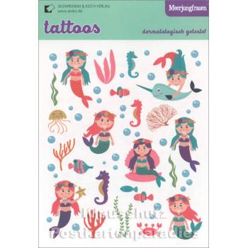 Tattoos - Meerjungfrauen