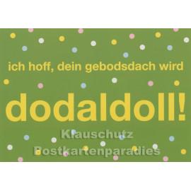 Franken Postkarten - Gebodsdach