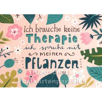 Postkarte | Spreche mit meinen Pflanzen