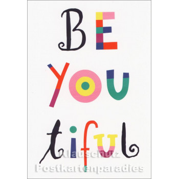 Beyoutiful - Postkarte